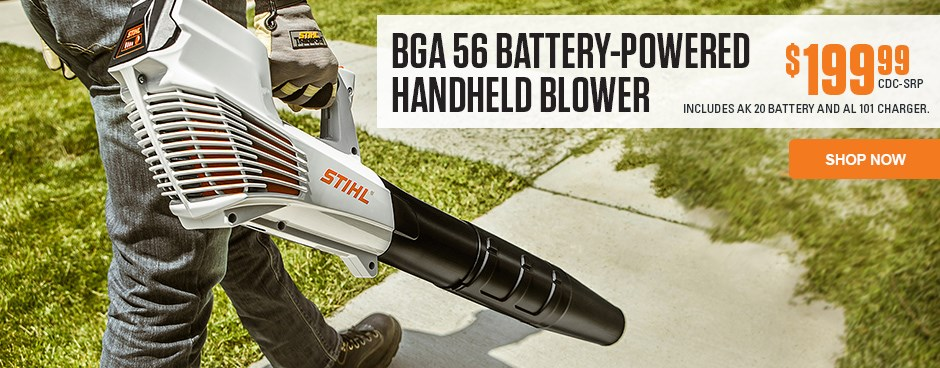 BGA 56 Battery-Powered Handheld Blower